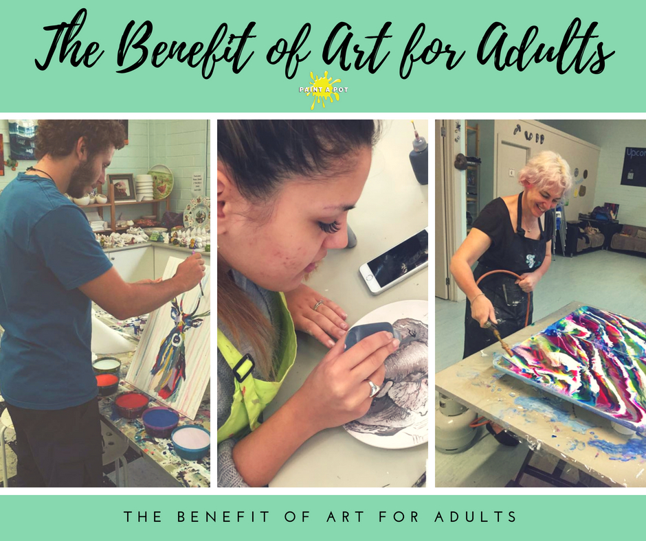 benefit of art for adults