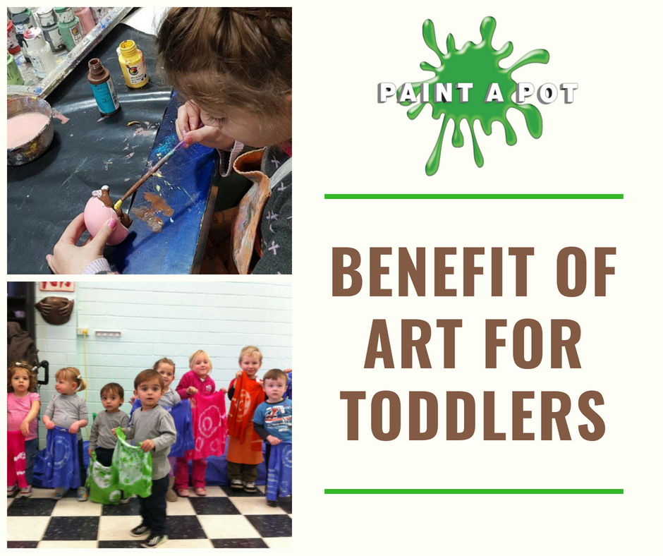 Benefit of art for toddlers