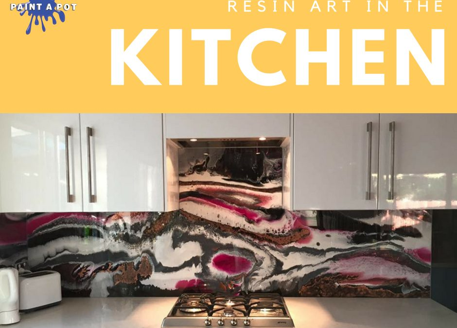 Resin Art In The Kitchen Paint A Pot