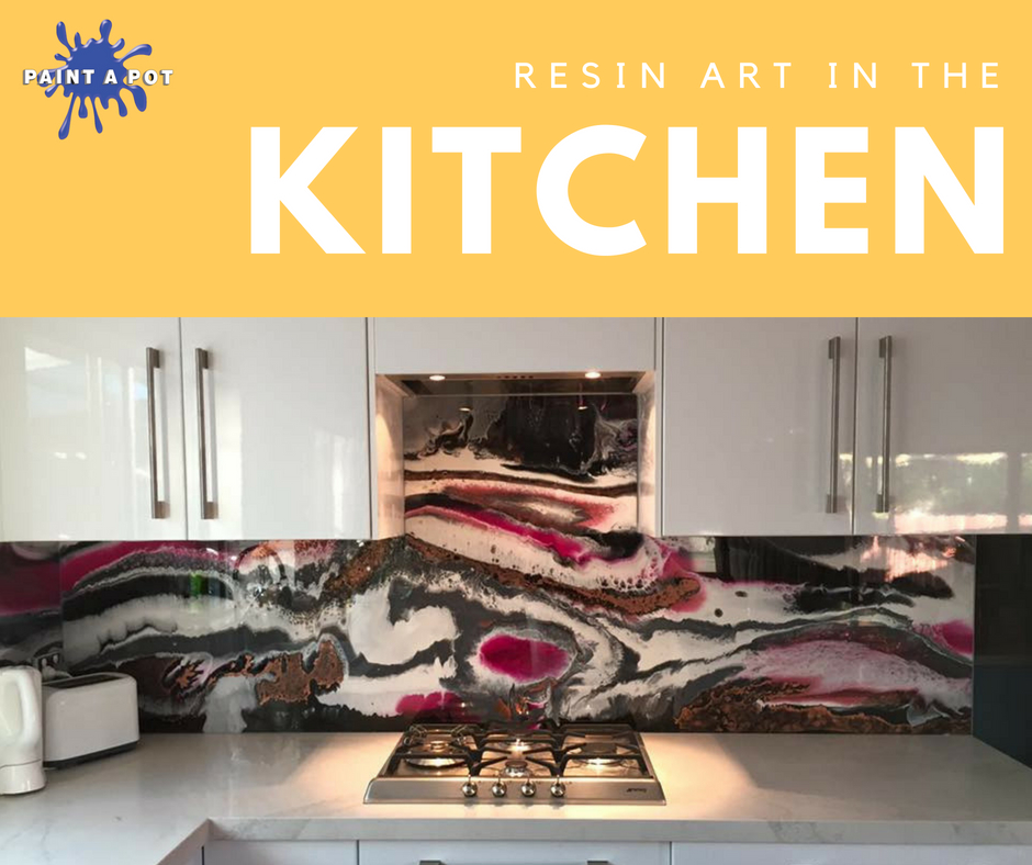 resin art in the kitchen
