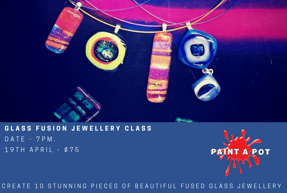 Glass Fusion Jewellery Class – Create Keepsakes for Loved Ones