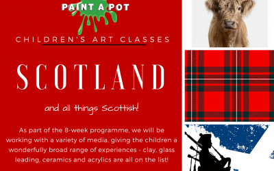 Children's Art Classes – Scottish Theme