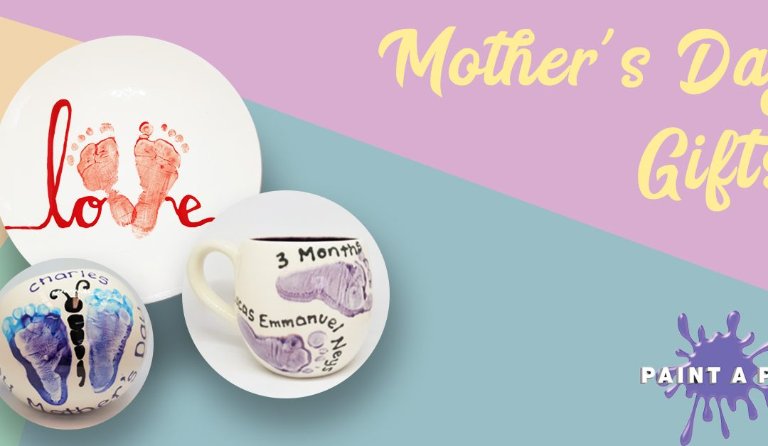 Creative Mother's Day Gifts at Paint a Pot