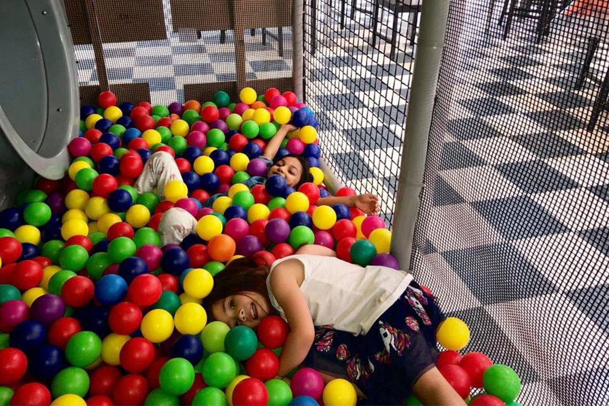 Paint a Pot - Kids - Ball Pit