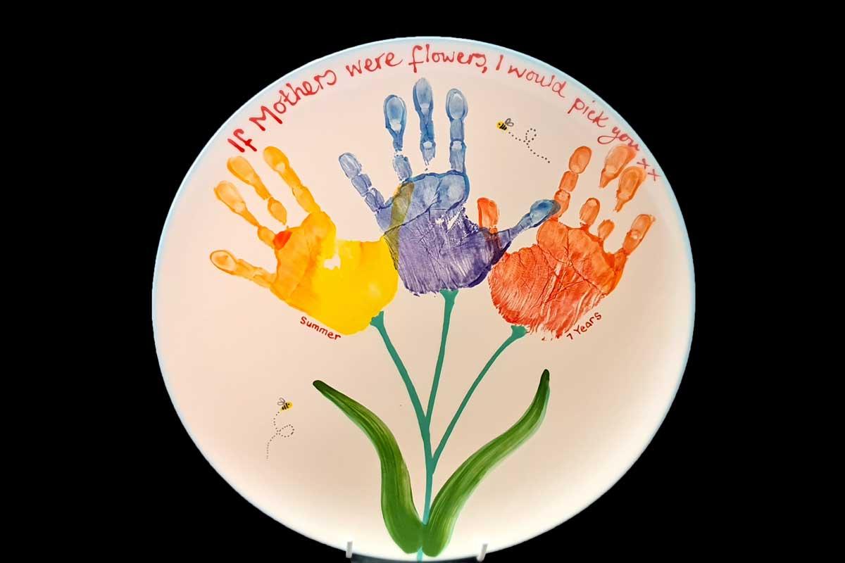 Paint a Pot Studios - Keepsakes Plate
